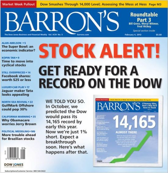 Barron's Cover